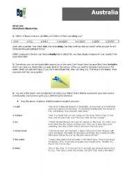 English Worksheets: blue bottles