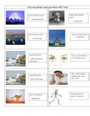 English Worksheets: How questions 1/2