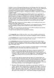 English Worksheets: creativity