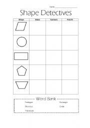 english worksheets the shapes worksheets page 68. Black Bedroom Furniture Sets. Home Design Ideas