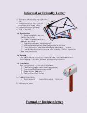 Guidelines for letter writing
