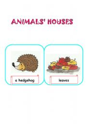 English Worksheets: Houses of Animals