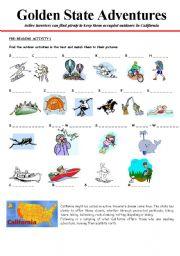 California golden state adventures 1 3 esl worksheet by cerix64 english worksheet california golden state adventures 1 3 altavistaventures Image collections