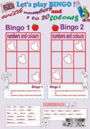 let´s play bingo !