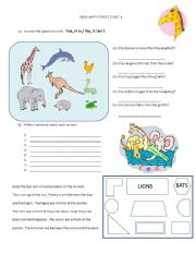 English Worksheet: new happy street 2 unit 4