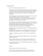 English Worksheets: writing word choice