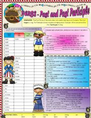 VERBS - Past Tense and Past Participle
