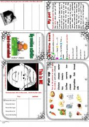 English Worksheet: Back to school: revision activities minibook