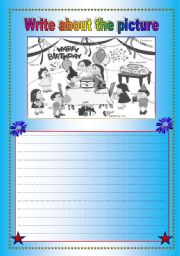 English Worksheets: Picture Discription
