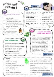 English Worksheet: Price tag - Jessie J