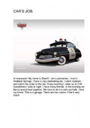 English Worksheets: CAR
