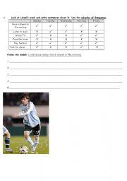 English Worksheets: Routine