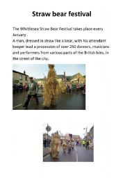 English Worksheets: Festival in Gb