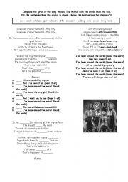 Aqua : Around The World lyrics - LyricsReg.com