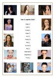 How is Angelina Jolie?