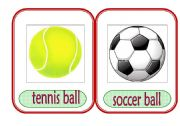 English Worksheet: Sports Equipment 1
