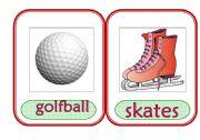 English Worksheet: Sports Equipment 2
