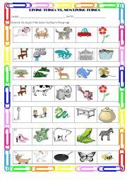 math worksheet : living things vs non living : Living And Nonliving Things Worksheets For Kindergarten