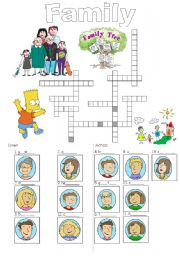 Family crossword_easy