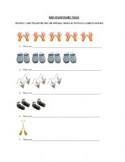 english worksheets counting by twos. Black Bedroom Furniture Sets. Home Design Ideas