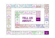 English Worksheets: Speaking board game
