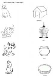 Animals Their Homes Worksheet http://www.eslprintables.com/vocabulary ...