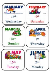 ... worksheets > Time > Days of the week > What´s the date today