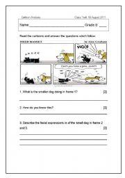 Cartoon Analysis Worksheet - cartoon analysis worksheet with ...