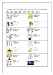 English Worksheets: abstract nouns