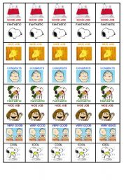 English Worksheets: INCENTIVES SNOOPY