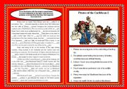 English Worksheets: Real Pirates of the Caribbean 2