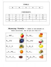 vowel combination worksheets. Black Bedroom Furniture Sets. Home Design Ideas