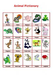 English Worksheets The Animals Page 230
