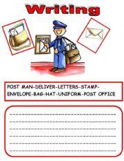 English Worksheets: WRITING 3