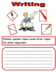 English Worksheets: WRITING 4