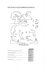 English Worksheets: A nice animal activity