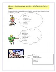 English Worksheets: Personal introduction