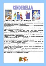 Sassy image within cinderella printable story