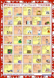 Mixed tenses klasse 7