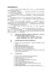 English Worksheets: HOW AMAZING!!!!!
