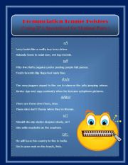 Pronunciation Tongue Twisters - Organized by IPA Minimal Pairs