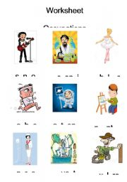 English Worksheets: Occupation