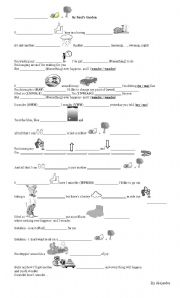 English Worksheet: Lemon Tree Activity