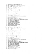 English Worksheets: Walk the Line 21 questions
