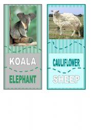 English Worksheets: Crazy animal jisaw  6/6