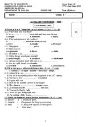 Printables 12th Grade English Worksheets 12th grade grammar worksheets abitlikethis 8 exam for level intermediate age