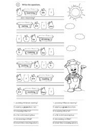 English Worksheets: grammer in use