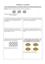 multiplication worksheets. Black Bedroom Furniture Sets. Home Design Ideas