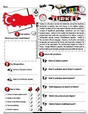 English Worksheet: RC Series_Level 01_Country Edition 20 Turkey (Fully Editable + Key)