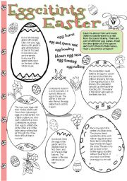 English Worksheets: Eggciting Easter